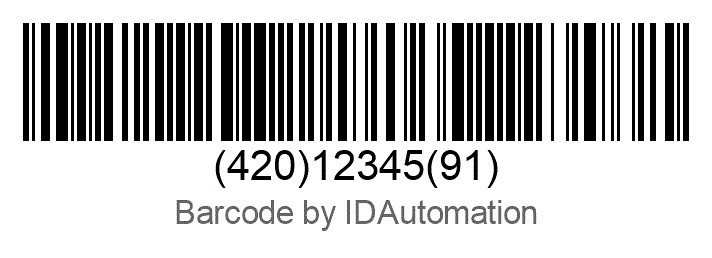 Human-Readable Text under Barcode Truncated (Cut Off) In Barcode
