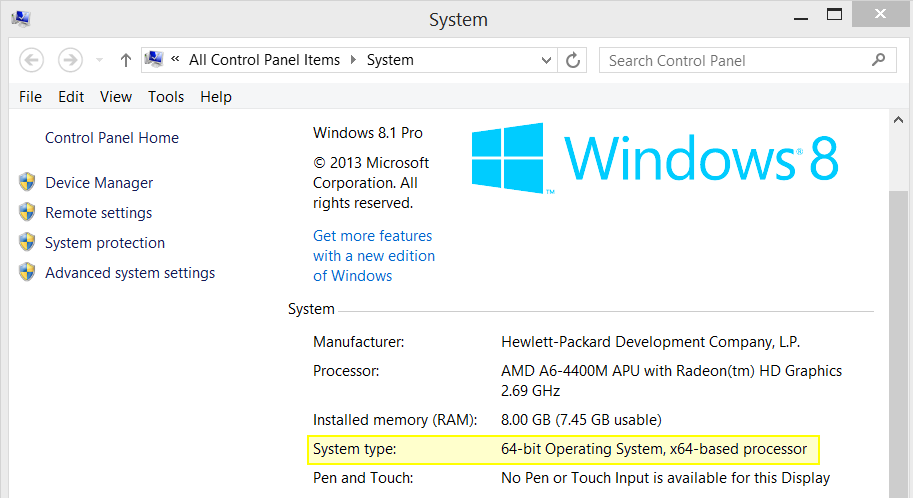 4 Ways To Tell If You're Using 32-Bit Or 64-Bit Windows